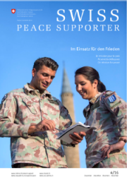 SWISS PEACE SUPPORTER 2016/4