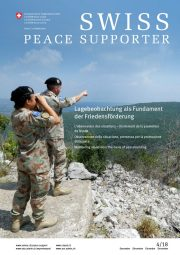 SWISS PEACE SUPPORTER 2018/4