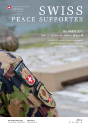 SWISS PEACE SUPPORTER 2019/2