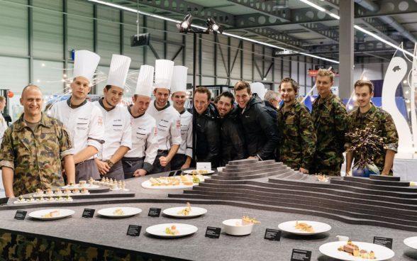 Cuisine militaire l arm e au salon de la gastronomie for Salon de la gastronomie paris 2017
