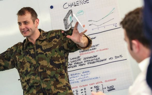 Wer eine Führungsausbildung der Schweizer Armee absolviert hat, ist bestens ausgebildet – auch für Funktionen im zivilen Berufsleben