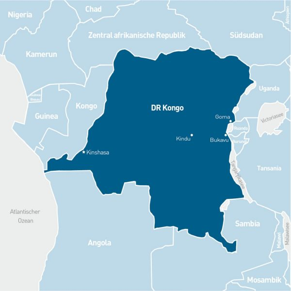 MONUSCO Demokratische Republik Kongo
