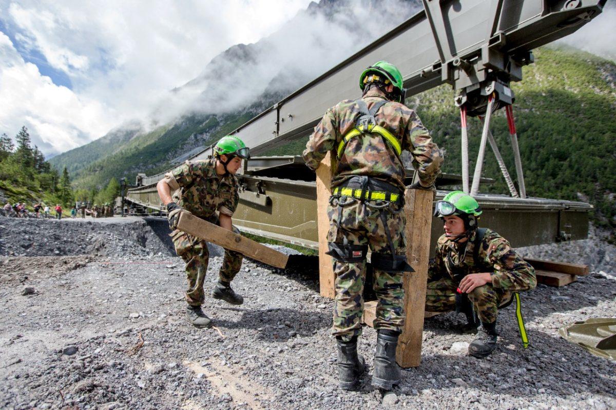 Militärische Katastrophenhilfe