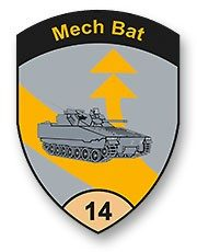 Badge Mech Bat 14