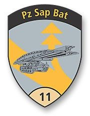 Badge Pz Sap Bat 11