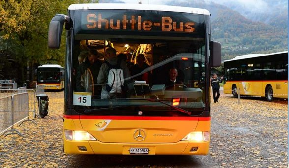 Shuttle-Bus ab Brienz-Brunnen