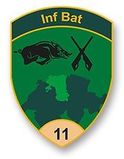 Badge Inf Bat 11