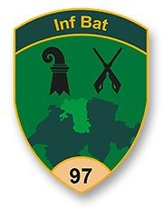 Badge Inf Bat 97
