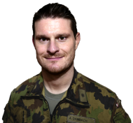 Major im Generalstab Andreas Dambach