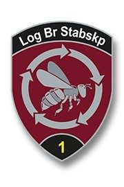 Badge Log Br Stabskp 1