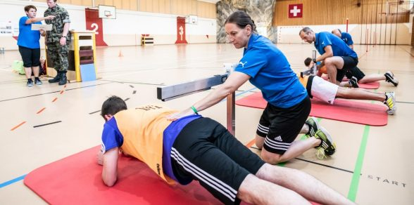 Fitnesstest der Armee