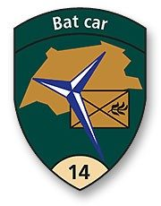 Badge Bat car 14