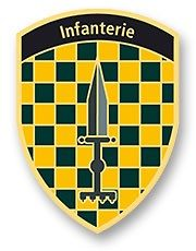 Badge Infanterie OS 10